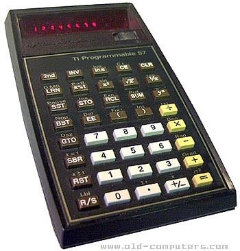 Les premières TI programmables 1/2 Texas_TI57_System_1