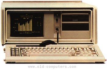 OLD-COMPUTERS COM Museum ~ IBM PC Portable - Model 5155
