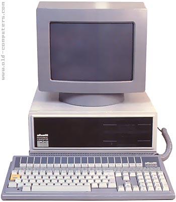 Olivetti M24 - 8 bits of pure IBM PC compatibility