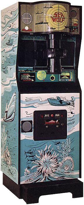 vintage submarine video game